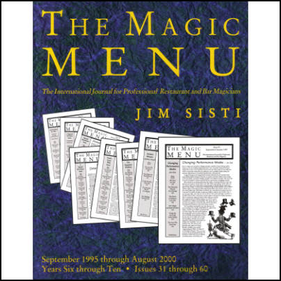 Magic Menu years 6-10 Jim Sisti