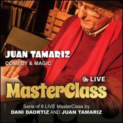 Juan Tamariz master class comedy and magic