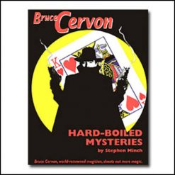 Hard boiled mysteries Bruce Cervon