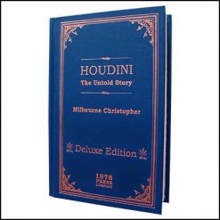 Houdini The untold story Christopher Milbourne