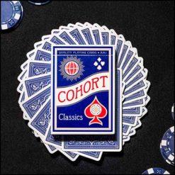 Jeu marqué Cohort bleu
