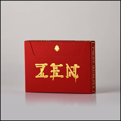 Jeu Royal Zen red gold