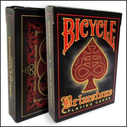 Jeu Bicycle Brimstone