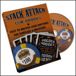 Stack attack Lew Brooks