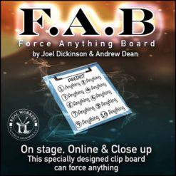 FAB Board Joel Dickinson Andrew Dean