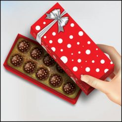 Bonbon box rouge George Iglesias