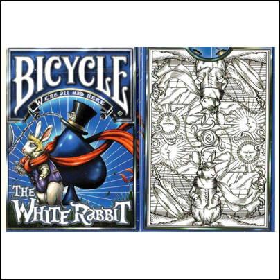 Jeu Bicycle White Rabbit