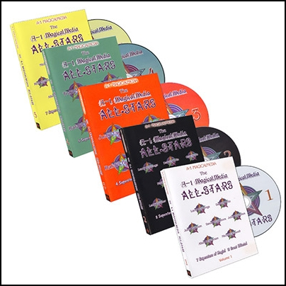 A1 Magicalmedia All Stars (5 DVD)