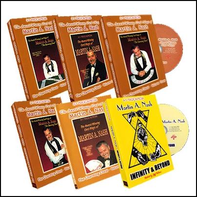 Award Wining Card Magic (6 DVD)