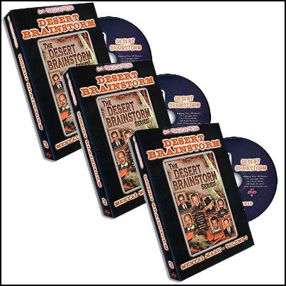 Desert Brainstorm (3 DVD)