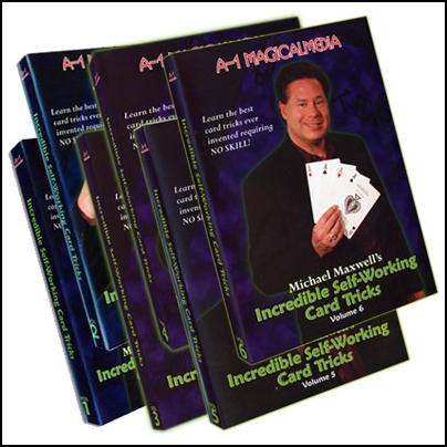 Incredible Self Working Card Tricks (6 DVD)