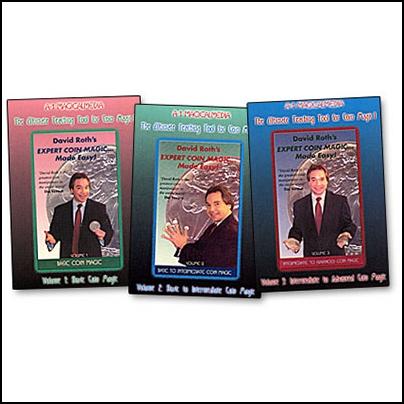 Coin Magic Made Easy (Vol.1-3)