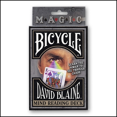 Bicycle David Blaine (jeu marqu?)