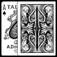 Split Spades (dos noir)