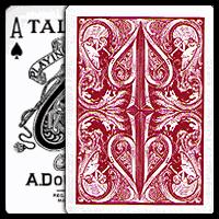 Split Spades (dos rouge)