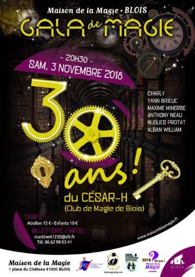 Affiche-Gala-Magie-CesarH-Blois